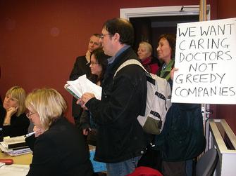 Laurels protest at PCT