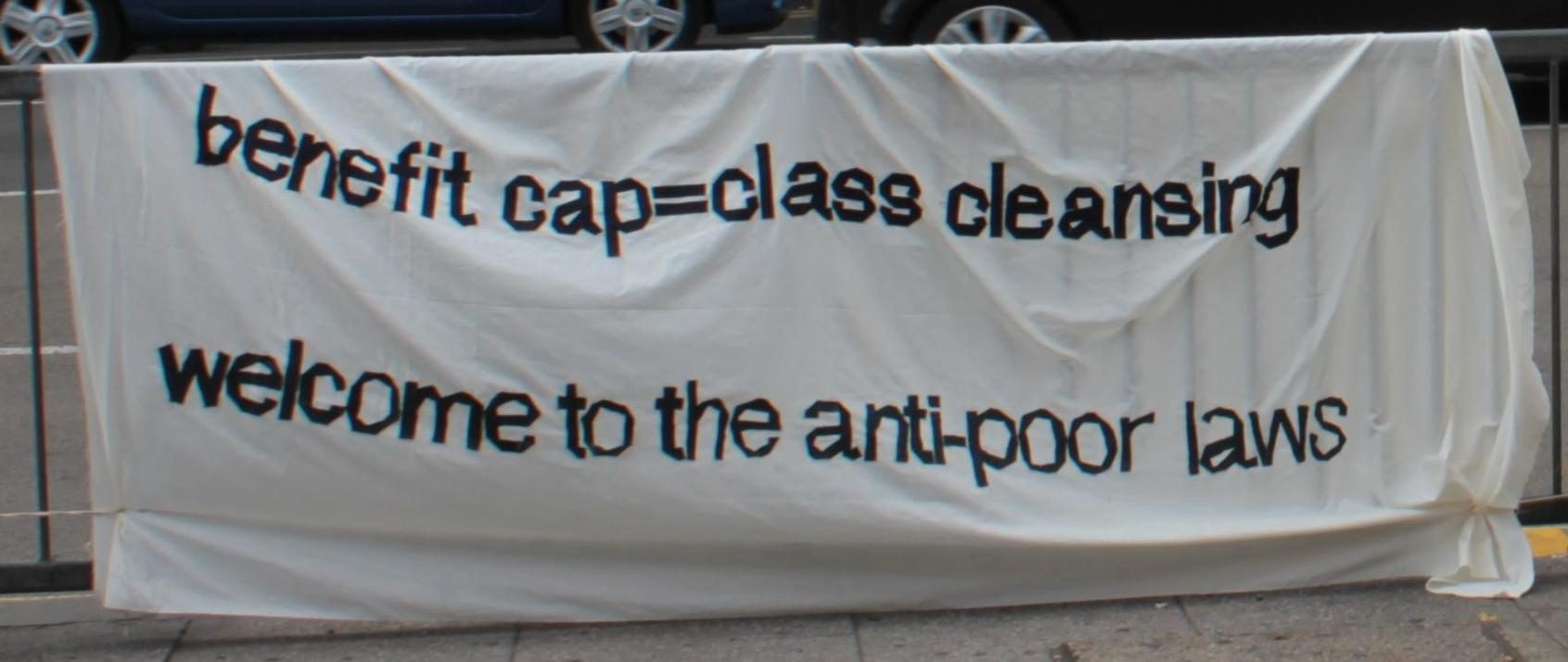Benefit cap equals class cleansing