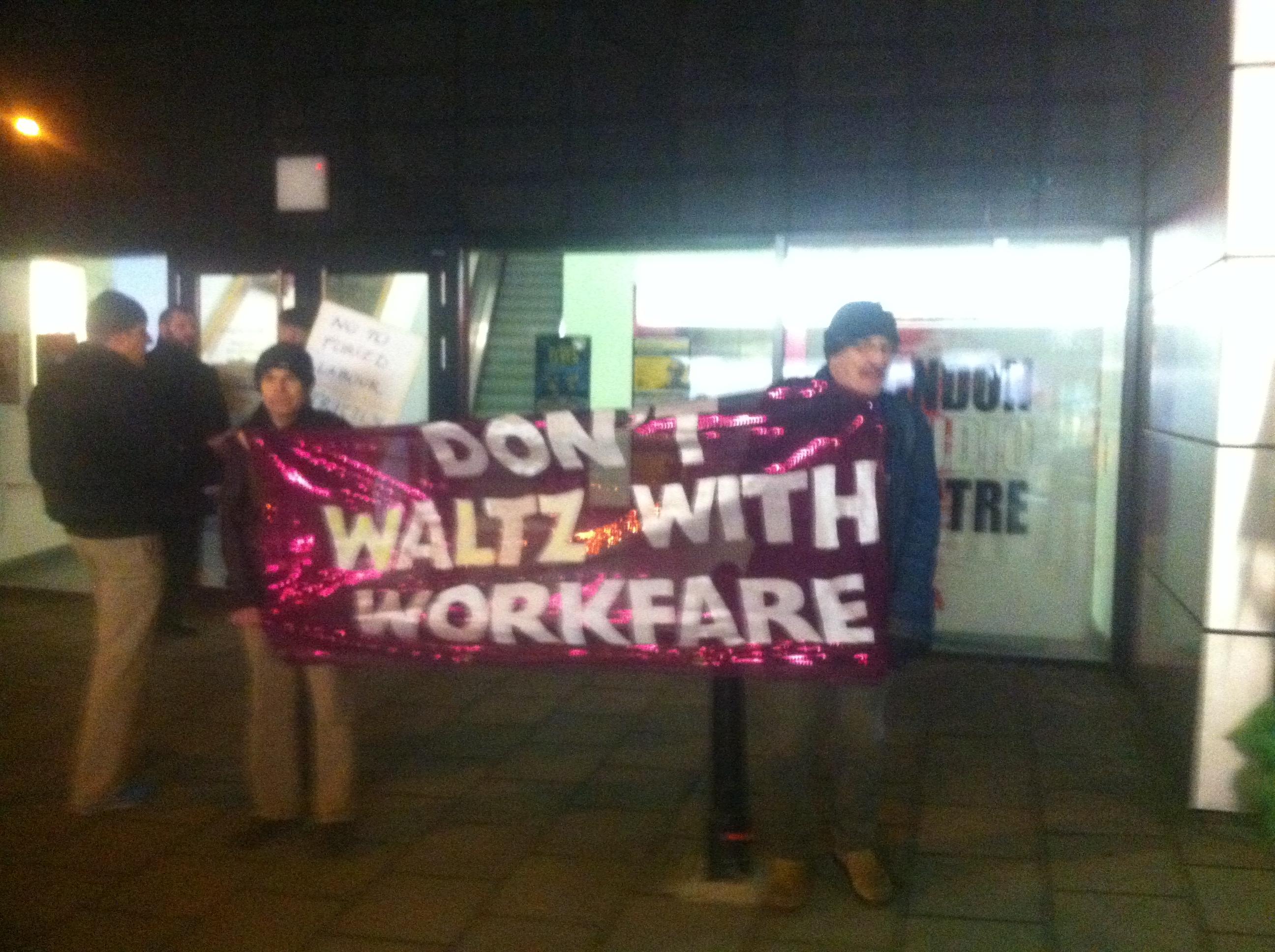 Workfare demo